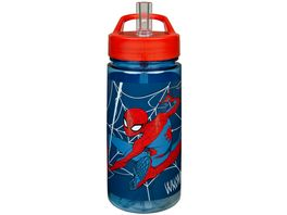 Scooli SPMA9913 Marvel Spider Man AERO Trinkflasche