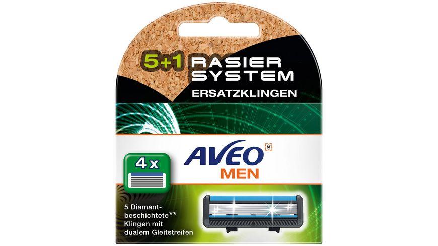 AVEO MEN 5.1 Klingen Herren Ersatzklingen