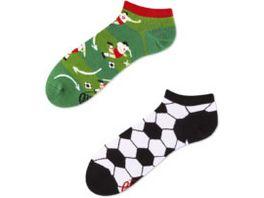 MANY MORNINGS Unisex Sneaker Socken Football Fan