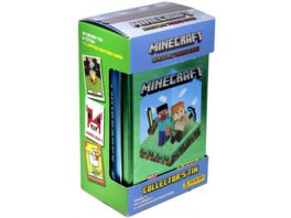 Panini Minecraft Adventure Trading Cards Tin Box mit 6 Packs