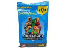Panini Minecraft Adventure Trading Cards Starterset