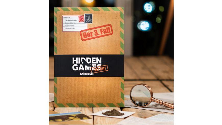 Hidden Games Tatort - Grünes Gift 3.Fall