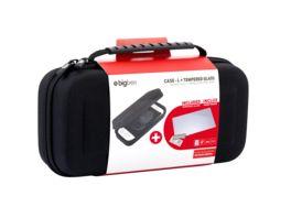 Switch Pack II black Inhalt Tasche Tempered Glass Bildschirmschutzfolie