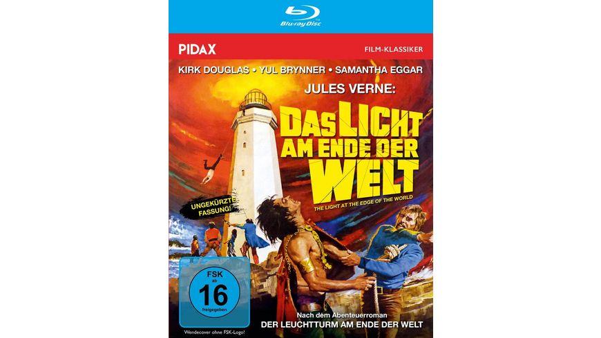Jules Verne: Das Licht am Ende der Welt / Packender Abenteuerfilm mit Starbesetzung in brillanter HD-Qualität (Pidax Film-Klassiker)