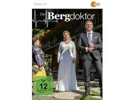 Der Bergdoktor Staffel 14 4 DVDs