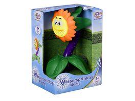 Mueller Toy Place Wassersprinkler Blume mit Stecker fuer Standard Gartenschlauch Wasserspielzeug