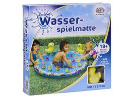 Mueller Toy Place Wasserspielmatte fuer Kleinkinder Durchmesser ca 122 cm Wasserspielzeug
