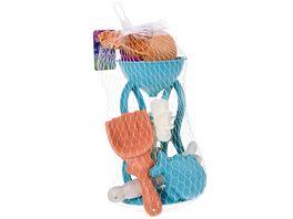 Mueller Toy Place Sandset Muehle 6 teilig Sandspielzeug