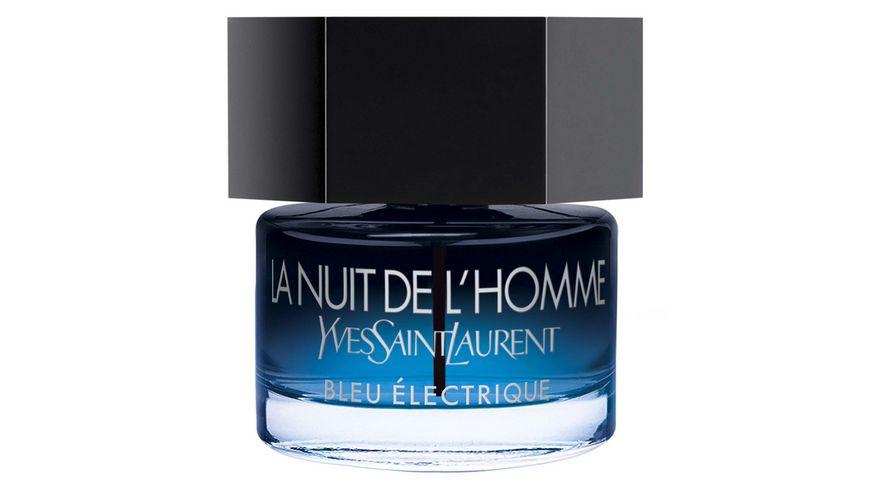 Yves Saint Laurent La Nuit De L'Homme Bleu Electrique Eau de Toilette