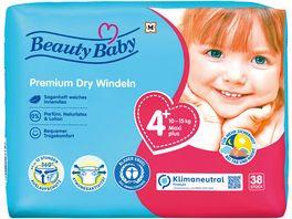 Beauty Baby Premium Dry Windeln Groesse 4 Maxi 10 15kg