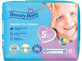 Beauty Baby Premium Dry Windeln Groesse 5 Junior 12 17 kg