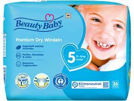 Beauty Baby Premium Dry Windeln Groesse 5 Junior 11 16 kg