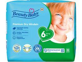 Beauty Baby Premium Dry Windeln Groesse 6 XL 13 kg
