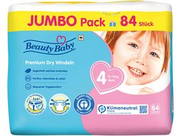 Beauty Baby Premium Dry Windeln Groesse 4 Maxi Jumbo 9 14 kg