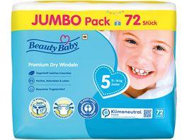 Beauty Baby Premium Dry Windeln Groesse 5 Junior Jumbo 11 16 kg