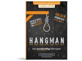 Denkriesen HANGMAN CLASSIC EDITION Galgenmaennchen TO GO Familienspiel