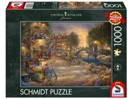 Schmidt Spiele Erwachsenenpuzzle Amsterdam 1000 Teile Puzzle