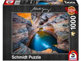 Schmidt Spiele Erwachsenenpuzzle Indigo 1000 Teile Puzzle
