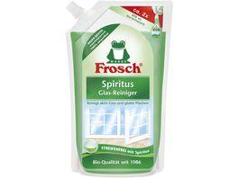 Frosch Spiritus Glas Reiniger Nachfuellbeutel