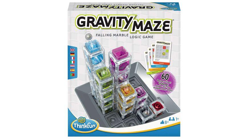 Thinkfun - 76433 - Garvity Maze - das spannende Kugellabyrinth für Mädchen und Jungen ab 8 Jahren. Gehirntraining mit einer Kugelbahn im neuen Verpackungsdesign!