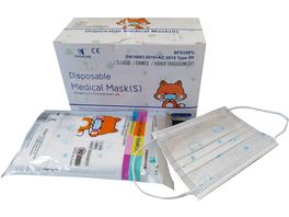YINHONYUHE Disposable Medical Mask S Weiss