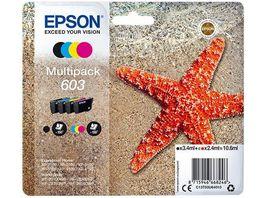 Epson Druckerpatrone T603 schwarz 3 Farben