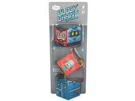 Thinkfun Block Chain Roboter Die neuen Brainteaser von ThinkFun fuer Maedchen und Jungen ab 8 Jahren Gehirntraining mit Wuerfelketten perfekt zum Mitnehmen und verschenken