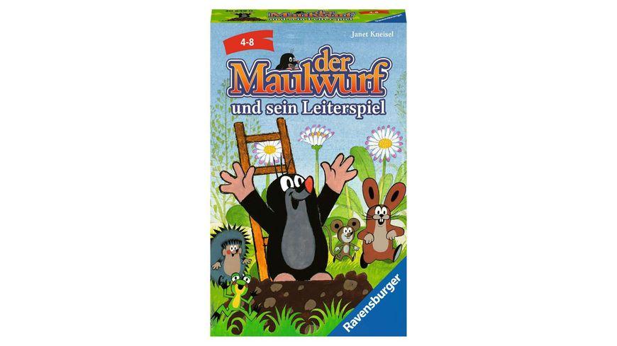 Ravensburger Spiel - Der Maulwurf und sein Leiterspiel, ein Mitbringspiel von Ravensburger für Kinder ab 4 Jahren