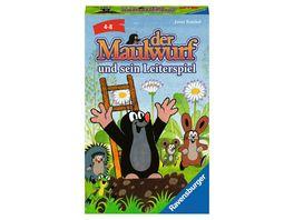 Ravensburger Spiel Der Maulwurf und sein Leiterspiel ein Mitbringspiel von Ravensburger fuer Kinder ab 4 Jahren