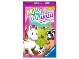 Ravensburger Spiel Milly Muffin 20670 kooperatives Einhorn Kinderspiel ab 4 Jahren