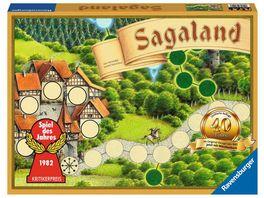Ravensburger Spiel Sagaland 40 Jahre Jubilaeumsedition 27040 Ein Spiele Klassiker ab 6 Jahren Familienspiel