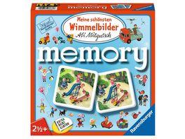 Ravensburger Spiel 81297 Meine schoensten Wimmelbilder memory der Spieleklassiker fuer alle Wimmelbilder Fans Merkspiel fuer 2 4 Spieler ab 2 Jahren
