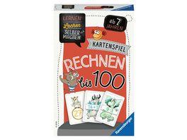 Ravensburger Spiel 80660 Lernen Lachen Selbermachen Rechnen bis 100 Kartenspiel ab 7 Jahren Grundrechenarten ueben fuer 1 5 Spieler Lernspiel mit verschiedenen Spielmoeglichkeiten