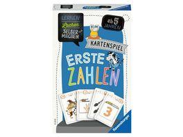 Ravensburger Spiel Lernen Lachen Selbermachen Erste Zahlen Lernspiel ab 5 Jahren Kinderspiel fuer 2 4 Spieler Kartenspiel