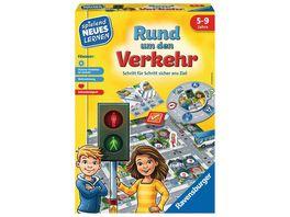 Ravensburger Spiel Lernspiel Rund um den Verkehr 24997 Kinderspiel ab 5 Jahren fuer 2 4 Spieler