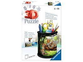 Ravensburger Puzzle 3D Puzzle 11263 Utensilo Raubkatzen 54 Teile ab 6 Jahren