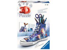 Ravensburger Puzzle 3D Puzzle Sneaker Astronauten im Weltall 11251 praktischer Stiftehalter im Weltraum Design 108 Teile ab 8 Jahren
