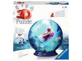 Ravensburger Puzzle 3D Puzzle Bezaubernde Meerjungfrauen 11250 Puzzle Ball 72 Teile ab 6 Jahren