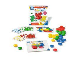 Ravensburger ministeps 4186 Mein erstes Colorino Klassisches Steckspiel zum Farbenlernen Spielzeug ab 18 Monaten