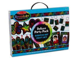 Melissa Doug Scratch Art Deluxe Party Pack Kratzkunst
