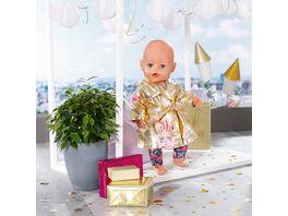 Zapf Creation BABY born Happy Birthday Mantel 43cm Puppenkleidung