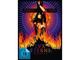 Lux terna Lux Aeterna Limited Edition Mediabook Cover A limitiert auf 1 666 Stueck und nummeriert DVD