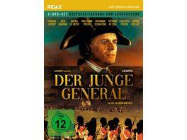Der junge General La Fayette Aufwaendiges Historienepos mit internationaler Starbesetzung Pidax Historien Klassiker 2 DVDs
