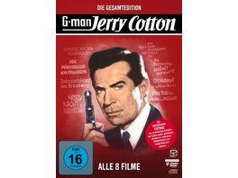 Jerry Cotton Die Gesamtedition Alle 8 Filme Filmjuwelen 9 DVDs inkl Soundtrack CD