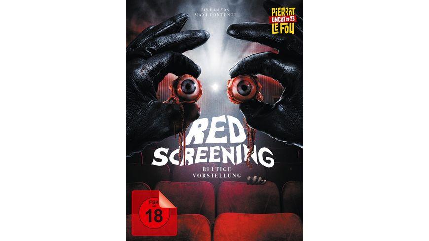 Red Screening - Blutige Vorstellung - Limited Edition Mediabook (uncut) (+ DVD)