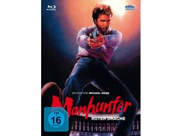 Manhunter Mediabook Cover A Limited Edition DVD