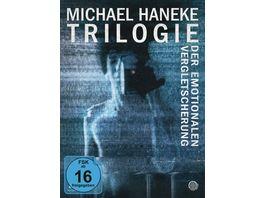 Michael Haneke Trilogie der emotionalen Vergletscherung Mediabook 3 BRs