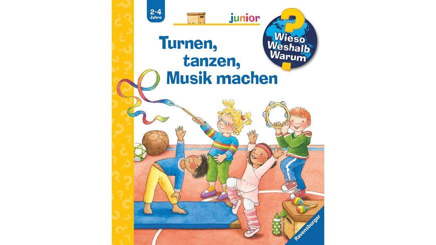 Wieso? Weshalb? Warum? Junior, Turnen, tanzen, Musik machen -  Kinderbuch