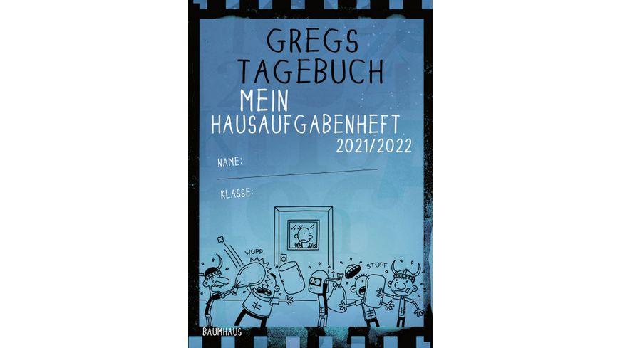 Gregs Tagebuch – Mein Hausaufgabenheft 2021/2022