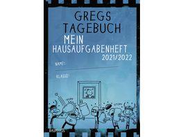 Gregs Tagebuch Mein Hausaufgabenheft 2021 2022